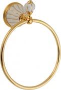 Подробнее о Полотенцедержатель Migliore Olivia ML.OLV-60.608.BO.DO кольцо золото / керамика (декор золото
