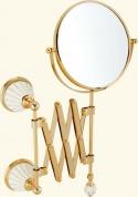 Подробнее о Зеркало Migliore Olivia ML.OLV-60.619.BI.CR настенное пантограф хром / керамика белая