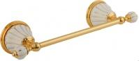 Подробнее о Полотенцедержатель Migliore Olivia ML.OLV-60.641.BO.DO одинарный длина 30 см золото / керамика (декор золото