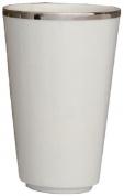 Подробнее о Стакан Nicol Sofia 2142092 настольный фарфор белый / ободок платина