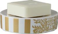 Подробнее о Мыльница Nicol Gloria 2151870 настольная керамика жасмин декор золото