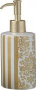 Подробнее о Дозатор Nicol Gloria 2151970 настольный для жидкого мыла керамика жасмин декор золото