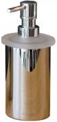 Подробнее о Дозатор Nicol Stella  2161900 настольный для жидкого мыла хром / стекло матовое