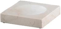 Подробнее о Мыльница Nicol Victoria 2311812 настольная натуральный камень travertin