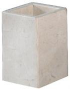 Подробнее о Стакан Nicol Victoria 2312012 настольный натуральный камень travertin