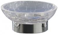 Подробнее о Мыльница Nicol Split 2381800 настольная стекло кракелюр / хром