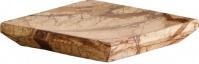 Подробнее о Мыльница Nicol Tura 2481812 настольная мрамор Bidasar цвет бежевый