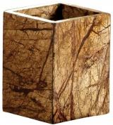 Подробнее о Стакан Nicol Tura 2482012 настольный мрамор Bidasar цвет бежевый /хром
