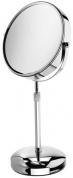 Подробнее о Зеркало Nicol Louisa 4024300 косметическое настольное хром