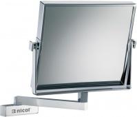 Подробнее о Зеркало Nicol Frauke 4024600 косметическое настенное хром