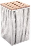 Подробнее о Корзина для белья Open Kristallux Encemble  0E 335 033 хром / сиденье wenge