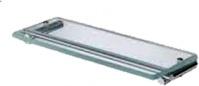 Подробнее о Полка Open Kristallux Musa OMS 60 013b стеклянная 35 см хром / стекло