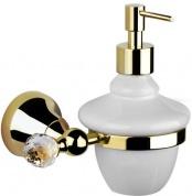 Подробнее о Дозатор жидкого мыла Performa Per15M-24S2 25804 CR SW настенный хром/Swarovski/керамика белая