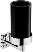 Подробнее о Стакан Pomdor Heritage Coco 70.70.01.302NE подвесной хром / стекло черное