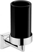 Подробнее о Стакан Pomdor Heritage Timeless 70.70.01.502NE подвесной хром / стекло черное