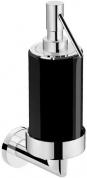 Подробнее о Дозатор жидкого мыла Pomdor Heritage Pure 70.78.01.102NE подвесной хром / стекло черное