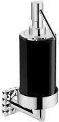 Подробнее о Дозатор жидкого мыла Pomdor Heritage Coco 70.78.01.302NE подвесной хром / стекло черное