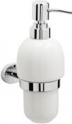 Подробнее о Дозатор для мыла Raiber R50115 подвесной хром/керамика белая