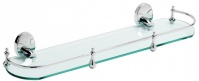 Подробнее о Полка Raiber R70121 стеклянная 52 см хром/стекло матовое