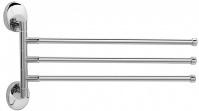 Подробнее о Полотенцедержатель Raiber R70127 тройной поворотный хром