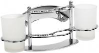 Подробнее о Стакан Raiber RBK-01 подвесной двойной хром /стекло матовое