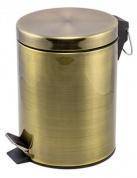 Подробнее о Ведро для мусора Raiber RHB302 с педалью 5 литров бронза