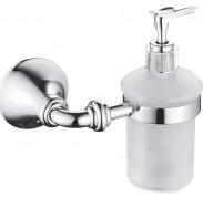 Подробнее о Дозатор жидкого мыла Rose RG12 RG1244 подвесной хром/стекло