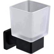 Подробнее о Стакан Rose RG15H RG1512H подвесной черный/стекло матовое