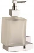 Подробнее о Дозатор жидкого мыла Sanibano Celeste H4020/11 подвесной хром /стекло матовое