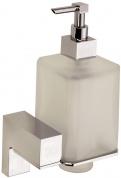 Подробнее о Дозатор жидкого мыла Sanibano Elegance H8700/11 подвесной хром /стекло матовое