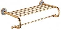 Подробнее о Полка-решетка Schein Saine Gold 7053042VF для полотенцев золото