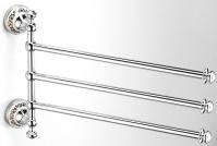 Подробнее о Полотенцедержатель Schein Saine Chrome 7053052 тройной поворотный хром