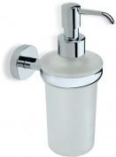 Подробнее о Дозатор для жидкого мыла StilHaus Diana DI 30 настенный хром / стекло матовое