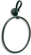 Подробнее о Полотенцедержатель StilHaus Flora  F 07 кольцо античная черная тоскана