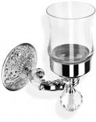 Подробнее о Стакан StilHaus Noto Light NT 10 V CR настенный хром / стекло прозрачное / стекло мурано