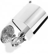 Подробнее о Бумагодержатель StilHaus Noto Light NT 11c V CR закрытый хром / стекло мурано
