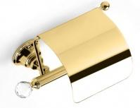 Подробнее о Бумагодержатель StilHaus Smart Light SL 11c ORO закрытый золото / Swarovski