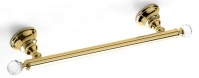Подробнее о Полотенцедержатель StilHaus Smart Light  SL 45 ORO одинарный длина 45 см золото / Swarovski