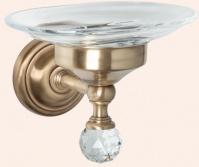 Подробнее о Мыльница Tiffany TW Crystal TWCR106 CR SW настенная хром / керамика/Swarovski