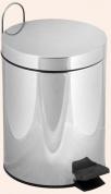 Подробнее о Ведро Tiffany TW Harmony TWCV010 CR с крышкой 3 литра хром