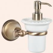 Подробнее о Дозатор жидкого мыла Tiffany TW Harmony TWHA108 CR настенный хром / керамика