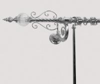 Подробнее о Карниз Tiffany TW Murano  TWMU KPALO/1-DIAM CR для шторки в ванну хром