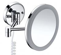 Подробнее о Зеркало косметическое Wasserkraft  K-1004 (3Х) с LED подсветкой хром