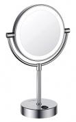 Подробнее о Зеркало косметическое Wasserkraft  K-1005 (3Х) с LED подсветкой хром