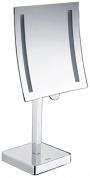 Подробнее о Зеркало косметическое Wasserkraft  K-1007 (3Х) с LED подсветкой хром