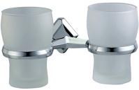 Подробнее о Стакан Wasserkraft Aller K-1100 K-1128D подвесной двойной хром/стекло матовое