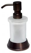 Подробнее о Дозатор для мыла Wasserkraft Isar K-2300  K-2399 настольный бронза/стекло матовое