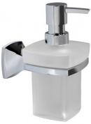 Подробнее о Дозатор для мыла Wasserkraft Wern K-2500 K-2599 подвесной хром/стекло матовое