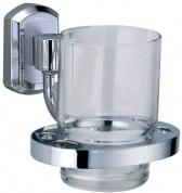 Подробнее о Стакан Wasserkraft Oder K-3000 K-3028 подвесной хром/стекло прозрачное