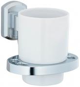 Подробнее о Стакан Wasserkraft Oder K-3000 K-3028C подвесной хром/керамика белая
